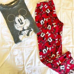 Minnie Mouse Pajama Pants